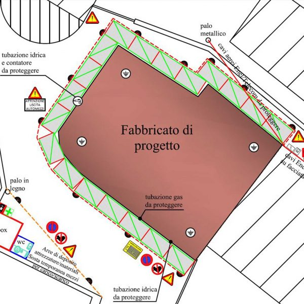 layout cantiere Evolveeng | Studio di Ingegneria Civile, Ambientale e Sismica dell'Ing. Eduardo Tortorella