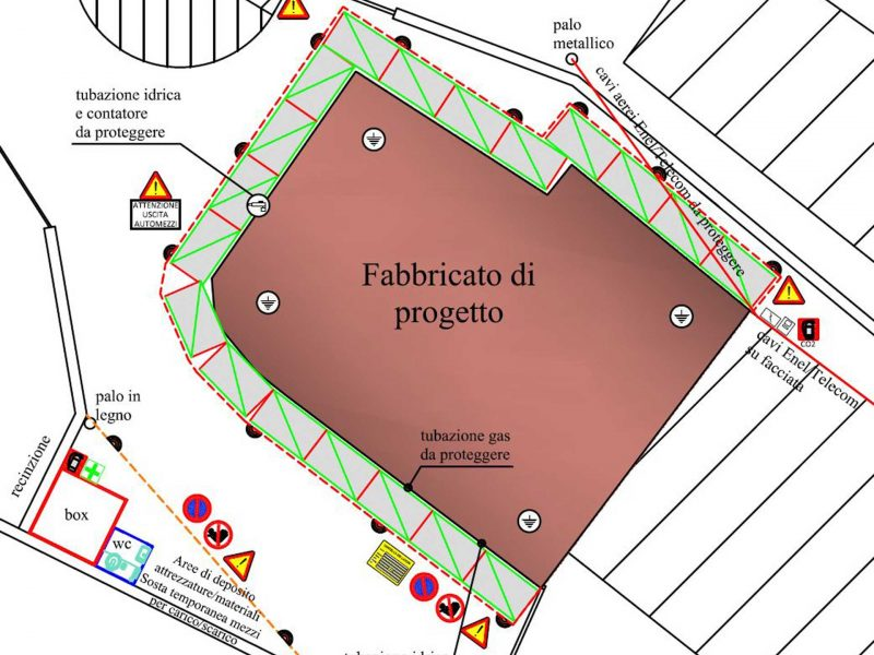 layout cantiere Evolveeng   Studio di Ingegneria Civile, Ambientale e Sismica dell'Ing. Eduardo Tortorella