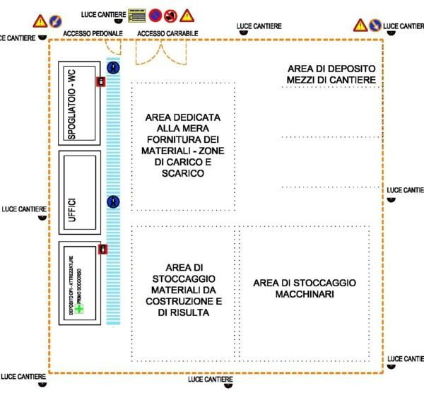 LAYOUT CANTIERE LOGISTICO