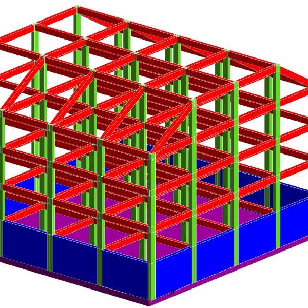 Modellazione-FEM-Struttura-3