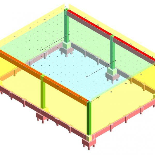 Modellazione-FEM-prefabbricato