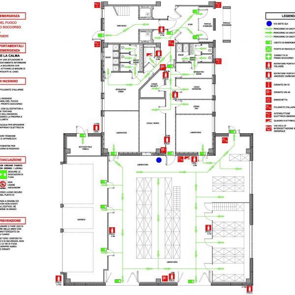 progeto piano di emergenza Evolveeng   Studio di Ingegneria Civile, Ambientale e Sismica dell'Ing. Eduardo Tortorella