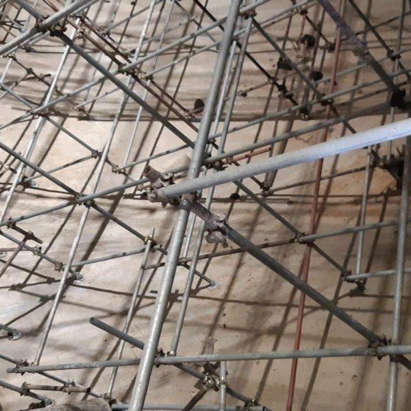 Ponteggio tridimensionale interno digestore per risanamento pareti 6