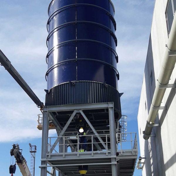 silos stoccaggio Evolveeng | Studio di Ingegneria Civile, Ambientale e Sismica dell'Ing. Eduardo Tortorella